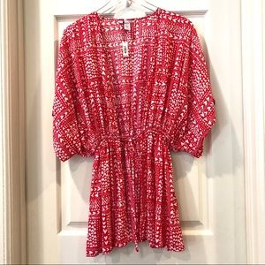 Victoria's Secret | Red Heart Kimono Robe